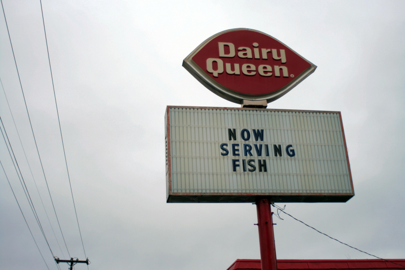 Dairy Queen: Now Serving Fish